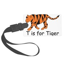 Tiger10.png Luggage Tag