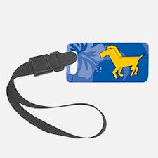 Horse Luggage Tag