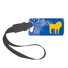 Lion Luggage Tag