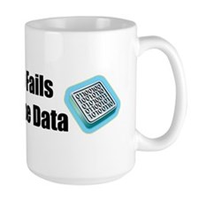 Manipulate the Data Ceramic Mugs
