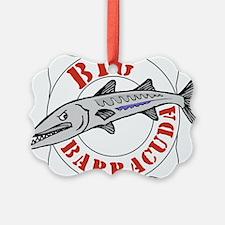 Big Barracuda Ornament