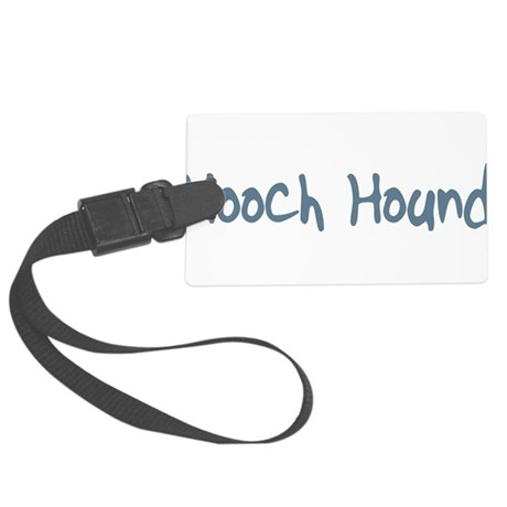 HoochHound10.png Large Luggage Tag