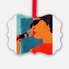 Licking the Chops 10 Ornament