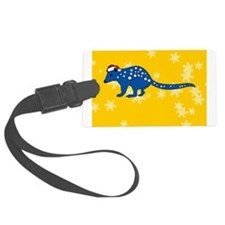 Cute Personalized christmas decorations Luggage Tag