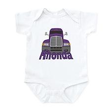 Trucker Rhonda Infant Bodysuit