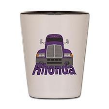 Trucker Rhonda Shot Glass