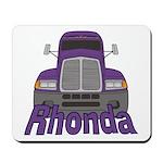 Trucker Rhonda Mousepad