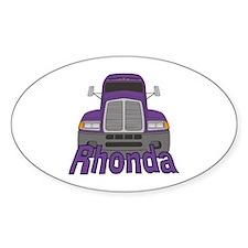Trucker Rhonda Decal