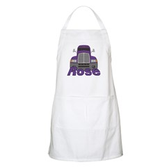 Trucker Rose Apron
