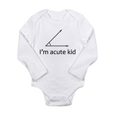 Im acute kid Long Sleeve Infant Bodysuit