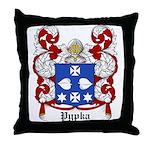 Pypka Coat of Arms Throw Pillow