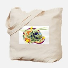 Helicopter9 Tote Bag