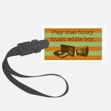 Funky Music Luggage Tag