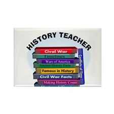 hISTORY TEACHER.PNG Rectangle Magnet