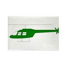 Helicopter15 Rectangle Magnet (100 pack)
