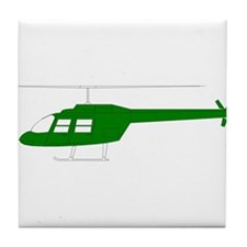 Helicopter15 Tile Coaster