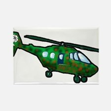 Helicopter16 Rectangle Magnet (100 pack)