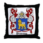 Przosna Coat of Arms Throw Pillow