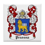 Przosna Coat of Arms Tile Coaster