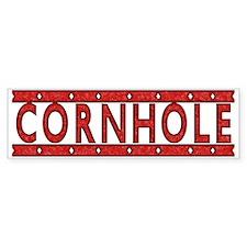 Cornhole Bumper Bumper Sticker