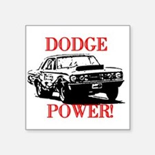 "AFTMDodgePower!.jpg Square Sticker 3"" x 3"""