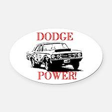 AFTMDodgePower!.jpg Oval Car Magnet