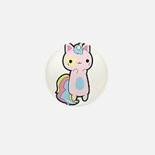 Unicorn Cat Mini Button (10 pack)