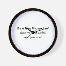 Brief Control  Wall Clock