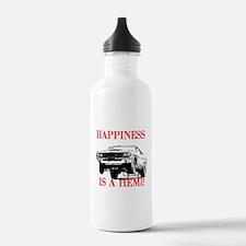 AFTMHappinessIsAHemi!.jpg Water Bottle