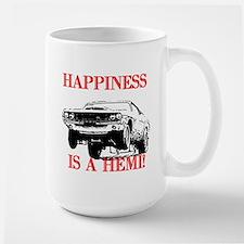 AFTMHappinessIsAHemi!.jpg Large Mug
