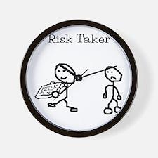 Risk Taker Wall Clock