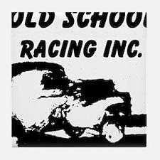 AFTM Old School Racing Inc Tile Coaster
