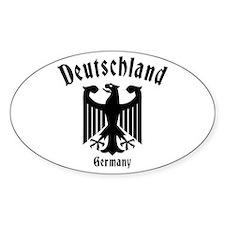 Deutschland Oval Decal