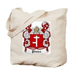 Pruss Coat of Arms Tote Bag