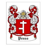 Pruss Coat of Arms Small Poster