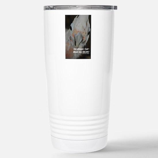 Meet My Beak! Stainless Steel Travel Mug