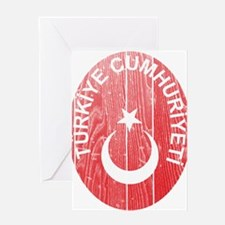Turkey Coat Of Arms Greeting Card