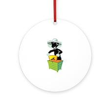 Beekeeper Ornament (Round)