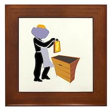 Beekeeper Framed Tile