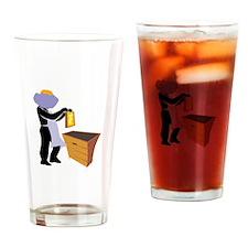 Beekeeper Drinking Glass