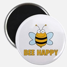 "Bee Happy 2.25"" Magnet (10 pack)"