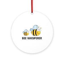 Bee Whisperer Ornament (Round)