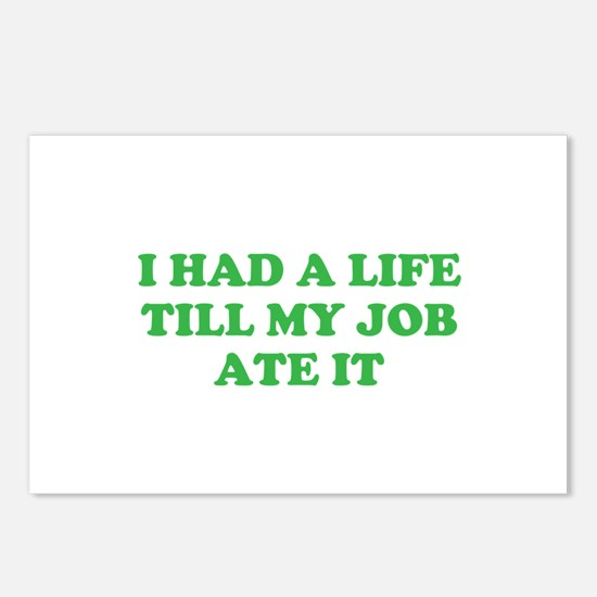 had a life merchandise Postcards (Package of 8)