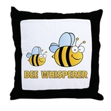 Bee Whisperer Throw Pillow