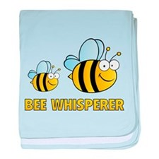Bee Whisperer baby blanket