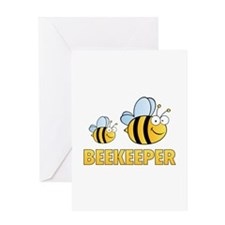 Beekeeper Greeting Card