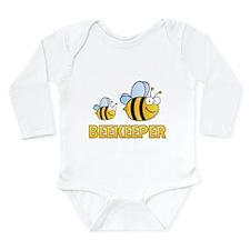 Beekeeper Long Sleeve Infant Bodysuit