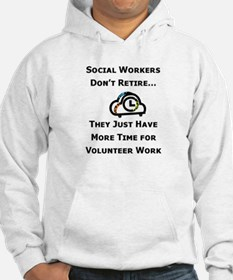 Social Work Retirement Jumper Hoody