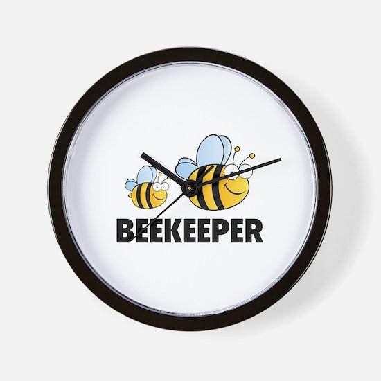 Beekeeper Wall Clock