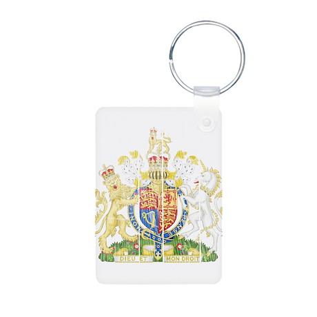 United Kingdom Coat Of Arms Aluminum Photo Keychai